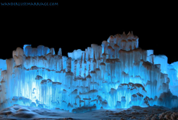 Front of Ice Castle