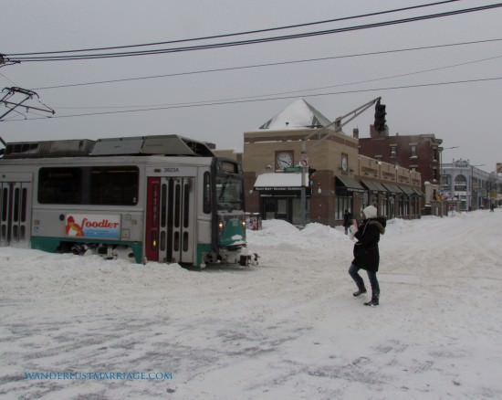 Harvard Ave and the T - Juno