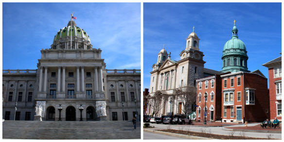 Harrisburg, the capital of Pennsylvania, is a lovely town and can offer a great chain value stay on weekends.