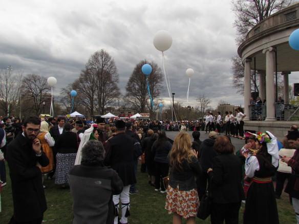 Greek festival, Boston Common