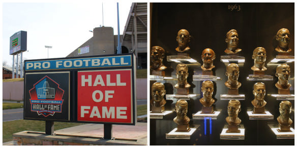 Pro Football Hall of Fame, Canton
