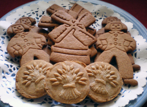 Speculaas, favorite Dutch food
