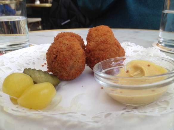 Bitterballen, favorite Dutch foods