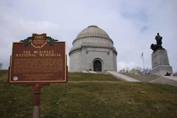 McKinley National Memorial in honor of President William McKinley