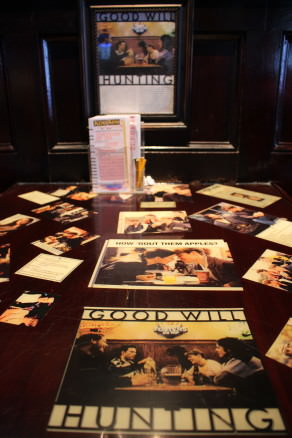 Goodwill Hunting Table, L Street Tavern in Southie
