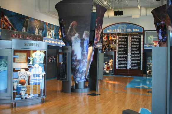 Carolina Basketball Museum, UNC- Chapel Hill