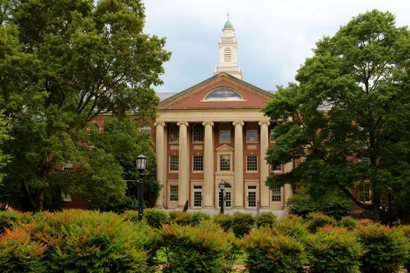 Dudley Dewitt Carroll building- UNC Chapel Hill