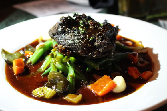Beer Braised Beef, Top of the Hill, Chapel Hill, North Carolina