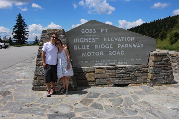 Blue Ridge Parkway Highest Elevation, North Carolina