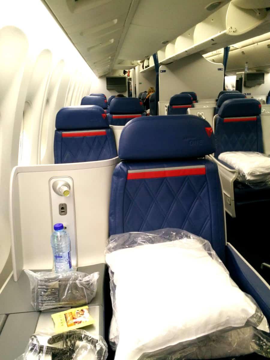 Review of Flying Delta Business Class Overseas - Wanderlust