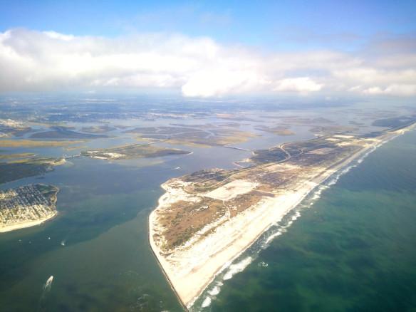 New York Shore from Delta Flight