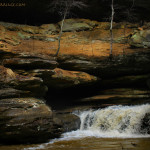 Waterfalls and Caves of Hocking Hills, Ohio