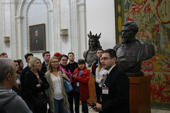 Tour, Parliament Bucharest