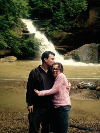 Hocking Hills waterfall Ohio