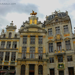 Grand Place Brussels, guild houses