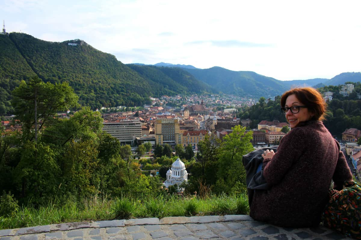 Brasov from Fortress