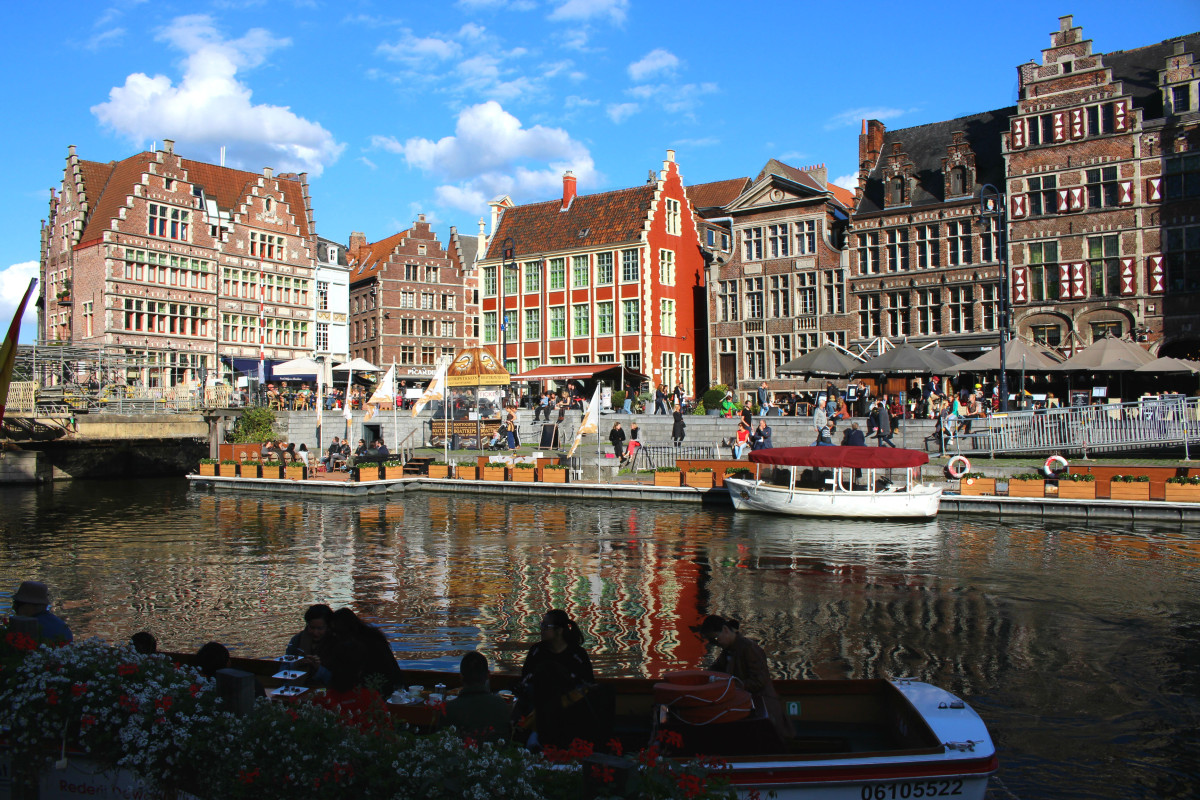 Ghent Canal Boats