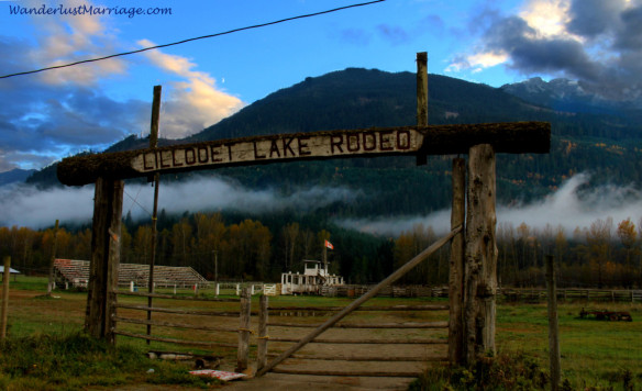 Rodeo grounds in BC