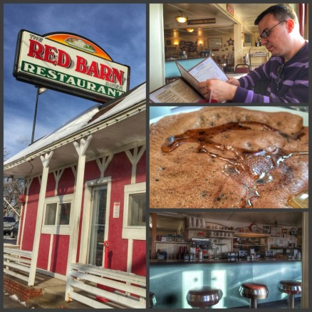 Red Barn diner, Machester, New Hampshire
