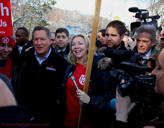 John Kasich in New Hampshire