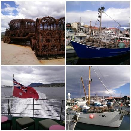 Hobart, Tasmania: MONA, Waterfront, Aussie Flag