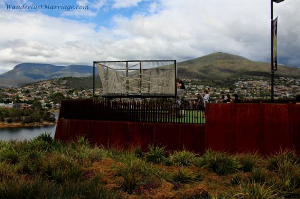Trampoline at MONA, Hobart