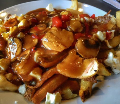 Poutine and Poutineville in Montreal