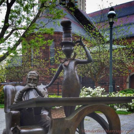 Dr Seuss Scultpor Garden