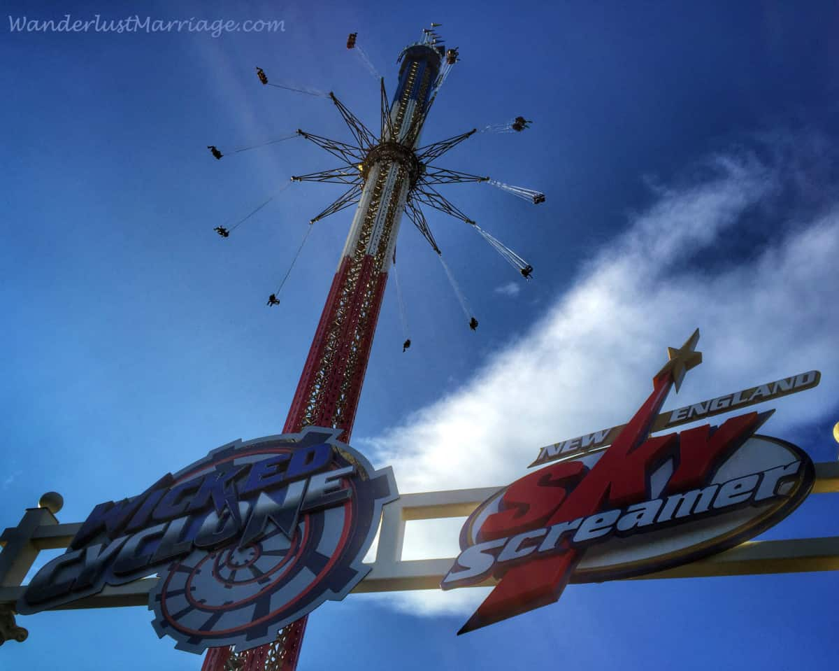 Six Flags New England Fun For All Ages Wanderlust Marriage