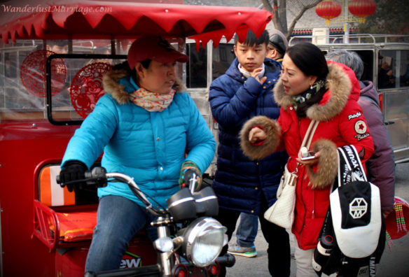 People of Beijing, Chinese TukTuk negotiation