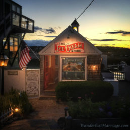 Rockport Massachusetts Ice Cream Shop