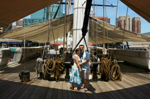 Alex & Bell - USS Constellation