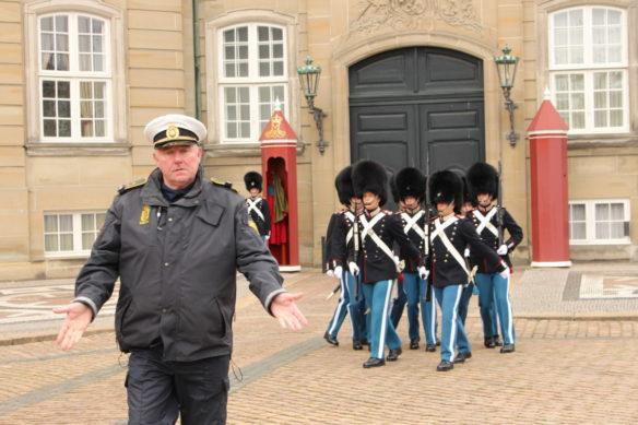 Amalienborg Palace changing of the guard, Copenhagen