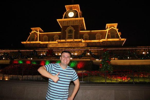 Magic Kingdom entrance, Orlando