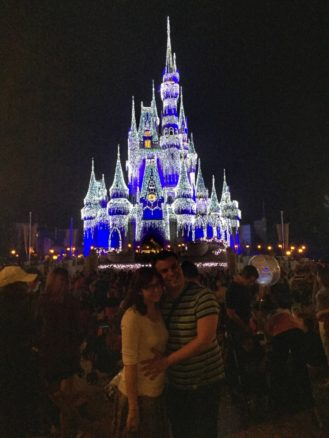 Cinderella's Castle at Christmas, Orlando