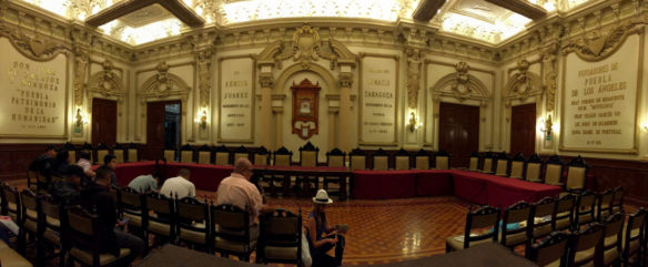 Beautiful room in Puebla city hall