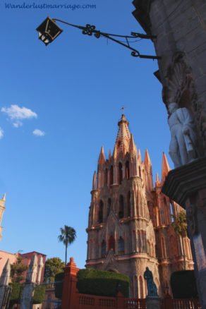 Cathedral in San Miguel