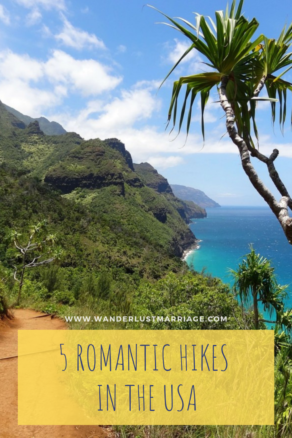 5 Romantic Hikes in the USA - PIN