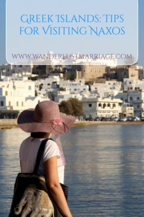 Pinterest pin - Naxos