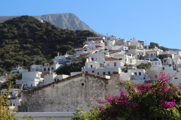Village in the mountains on Naxos