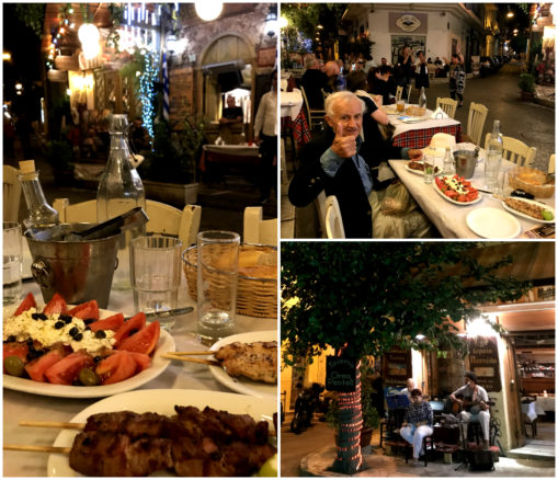 Athens dinner at a Psyri taverna with live rembetika music