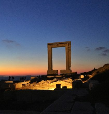 Temple of Apollo ruins on Naxos