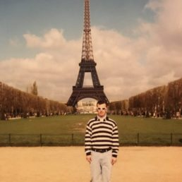 First Time in Paris 20 Years Ago, Eiffel Tower