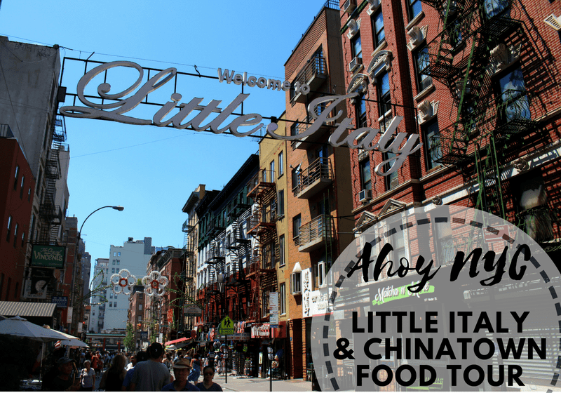 Little Italy, Ahoy New York Food Tours