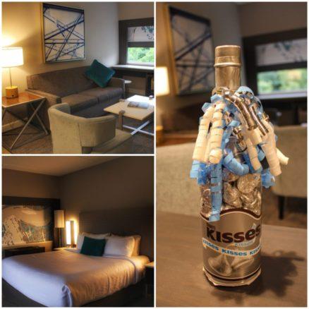 Hershey kisses on a table at Hotel Indigo Harrisburg - Hershey
