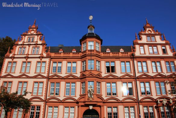 colorful architecture in Mainz
