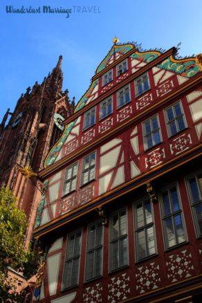 Frankfurter Dom & New Frankfurt architecture