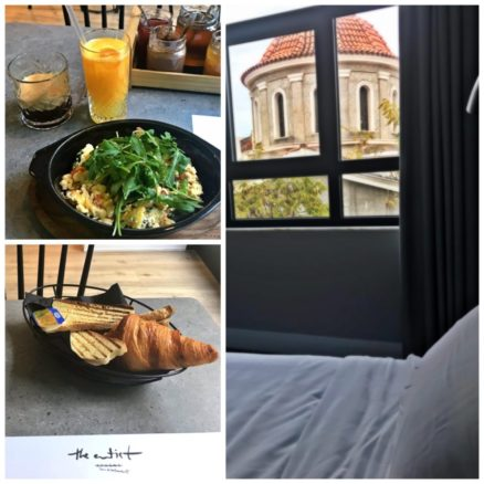 Artist Athens - breakfast, rooms and hotel views