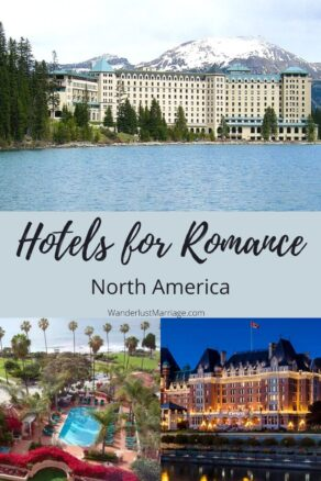 Pin of hotels for Pinterest