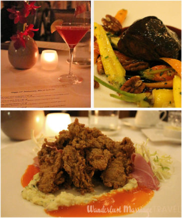Fried oysters, beef cheek and personalized menus at Lemaire
